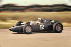BRM P57 V8 Graham Hill British GP 1962